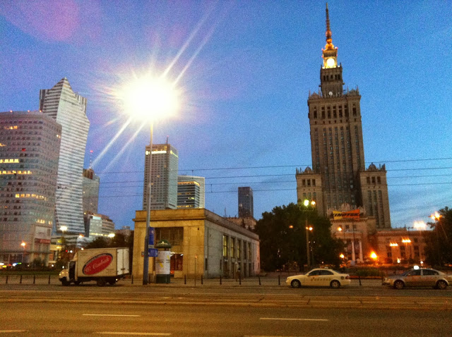 Warszawa- wrażenia z konferencji